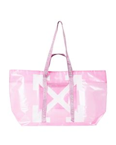 OFF-WHITE c/o Virgil Abloh WOMENS COMMERCIAL TOTE / 2701 : PINK WHITE