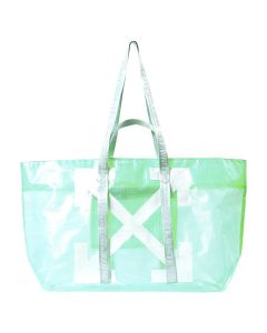 OFF-WHITE c/o Virgil Abloh WOMENS COMMERCIAL TOTE / 4101 : LIGHT GREEN WHITE