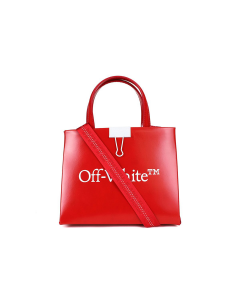 OFF-WHITE c/o Virgil Abloh WOMENS MINI BOX BAG / 2501 : RED WHITE