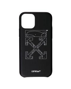 OFF-WHITE c/o Virgil Abloh WOMENS PUZZLE IPHONE 11 PRO MAX / 1001 : BLACK WHITE