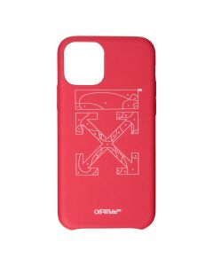 OFF-WHITE c/o Virgil Abloh WOMENS PUZZLE IPHONE 11 / 2501 : RED WHITE