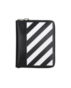OFF-WHITE c/o Virgil Abloh MENS DIAG ORGANIZER / 1001 : BLACK WHITE
