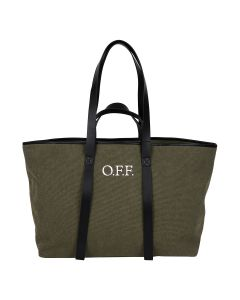 OFF-WHITE c/o Virgil Abloh WOMENS CANVAS COMMERCIAL TOTE / 5601 : MILITARY WHITE