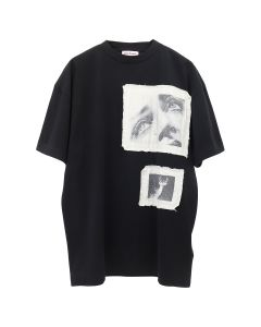 Palm Angels TAG S/S TEE / 1088 : BLACK MULTICOLOR
