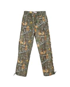 Palm Angels WOOD CAMO AFTERSPORT PANTS / 5088 : BROWN MULTICOLOR