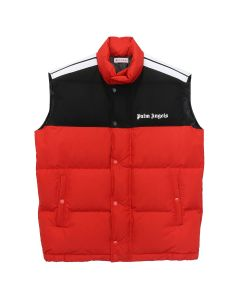 Palm Angels DOWN TRACK VEST / 2001 : RED WHITE