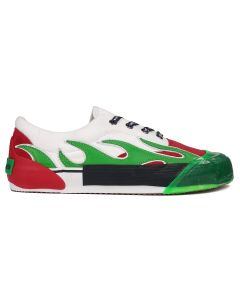 Palm Angels FLAME / 8840 : MULTICOLOR GREEN