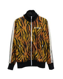 Palm Angels TIGER TRACK JACKET / 6001 : BROWN WHITE