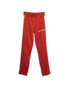 Palm Angels CLASSIC TRACK PANTS / 2901 : SCARLET RED WHITE