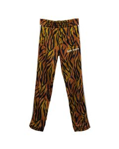Palm Angels TIGER TRACK PANTS / 6001 : BROWN WHITE