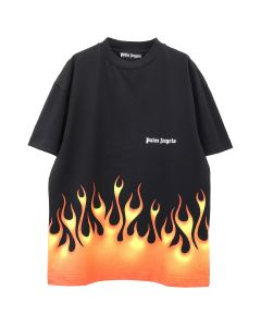 Palm Angels FIRESTARTER CLASSIC TEE / 1088 : BLACK MULTICOLOR