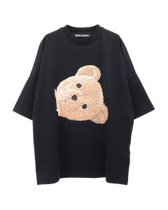 Palm Angels BIG BEAR OVER TEE / 1088 : BLACK MULTICOLOR