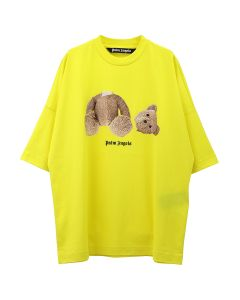Palm Angels PALM ANGELS BEAR OVER TEE / 6088 : YELLOW MULTICOLOR