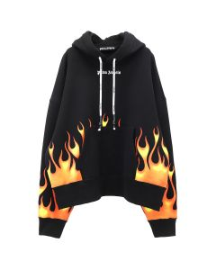Palm Angels FIRESTARTER HOODY / 1088 : BLACK MULTICLOR
