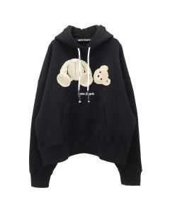 Palm Angels PALM ANGELS BEAR HOODY / 1088 : BLACK MULTICOLOR