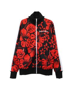 Palm Angels HAWAIIAN TRACK JKT / 1020 : BLACK RED