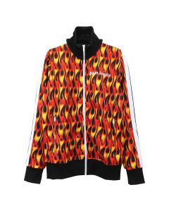 Palm Angels BURNING TRACK JKT / 1088 : BLACK MULTICOLOR