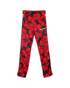 Palm Angels HAWAIIAN TRACK PANTS / 1020 : BLACK RED