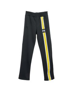 Palm Angels MONOGRAM TRACK PANTS / 1060 : BLACK YELLOW