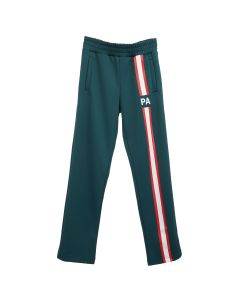 Palm Angels MONOGRAM TRACK PANTS / 4220 : DARK GREEN RED