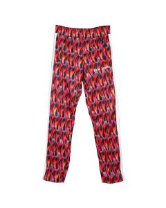 Palm Angels BURNING TRACK PANTS / 1028 : BLACK FUXIA
