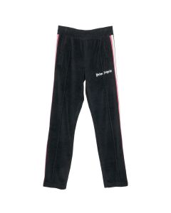 Palm Angels TDYE TAPE CHENILLE TRK PANTS / 1088 : BLACK MULTICOLOR
