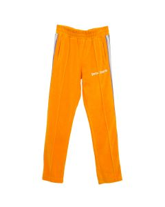 Palm Angels TDYE TAPE CHENILLE TRK PANTS / 1888 : ORANGE MULTICOLOR