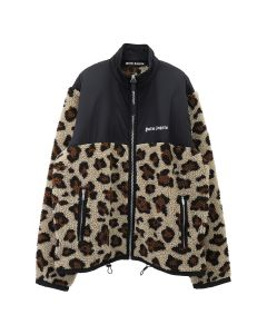 Palm Angels ANIMALIER PILE JKT / 8801 : MULTICOLOR WHT