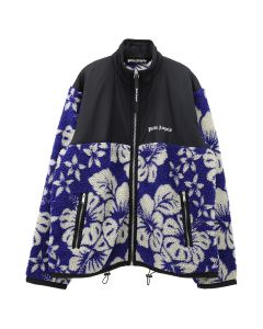 Palm Angels HAWAIIAN PILE JKT / 3001 : BLUE WHITE