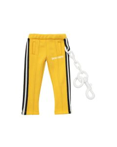 Palm Angels MINI TRACK KEYCHAIN / 6001 : YELLOW WHITE