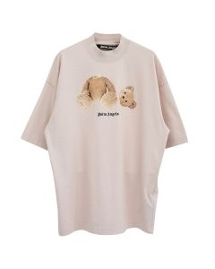 Palm Angels PALM ANGELS BEAR OVER TEE / 3060 : ROSE BROWN