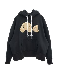 Palm Angels PALM ANGELS BEAR OVER HOODY / 1060 : BLACK BROWN