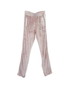 Palm Angels CHENILLE TRACK PANTS / 3001 : ROSE WHITE