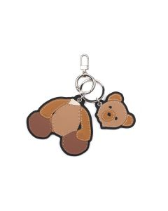 Palm Angels PALM ANGELS BEAR KEY HOLDER / 6010 : BROWN BLACK