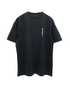 Palm Angels STATEMENT LOGO TEE / 1001 : BLACK WHITE
