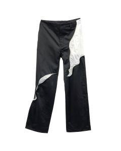 POST ARCHIVE FACTION 3.1 TROUSER CENTER / BLACK-WHITE