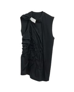 POST ARCHIVE FACTION 3.0 SLEEVELESS LEFT / BLACK
