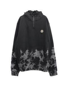 P.A.M. COVER HOODED SWEAT / LIGHTENING DYE