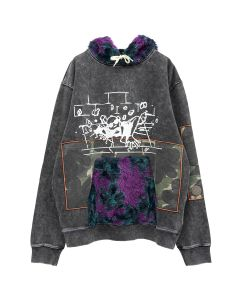 P.A.M. DEEP LEVEL HOODED SWEAT / MULTI