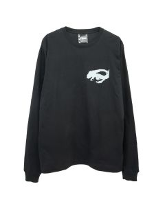 P.A.M. PRIVATE L/S TEE / BLACK