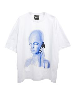 P.A.M. CALLING OVERSIZED S/S TEE / OFF WHITE