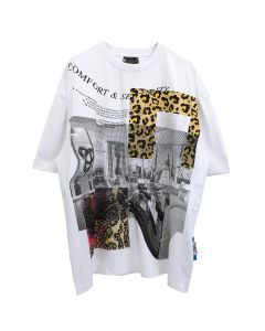 P.A.M. BOXED ANIMAL OVERSIZED SS TEE / MULTI