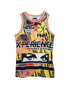 P.A.M. RED PLANET BASKETBALL SINGLET / EARTH