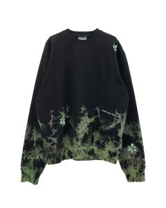 P.A.M. LIGHTNING MESSAGES CREW NECK SWEAT / LIGHTNING STRIKE