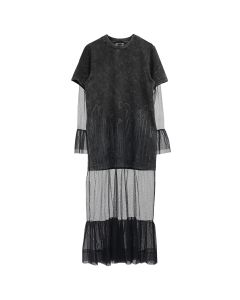 P.A.M. INTIMATE UPSCALE WET CEMENT DRESS / WET CEMENT