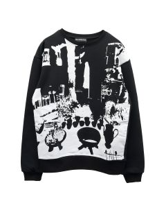 PAULA CANOVAS DEL VAS APPAREL JUMPER / BLACK