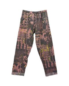 PHINGERIN NIGHT PANTS GAUZE CLONE THINGS / A : PINK