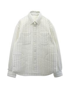 PHINGERIN QUILTED SHIRT BD / A : WHITE