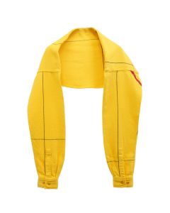PHINGERIN SLEEVE SCARF SPACE PLAID NEL / A : MUSTARD