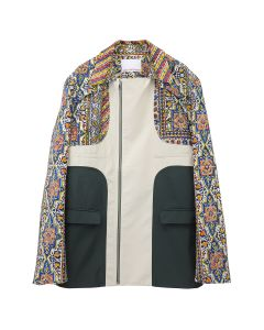 paria /FARZANEH IRANIAN PANEL SUIT JACKET / MULTI